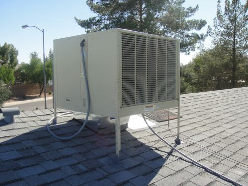 Evaporative Cooler, Swamp Cooler, Air Conditioning